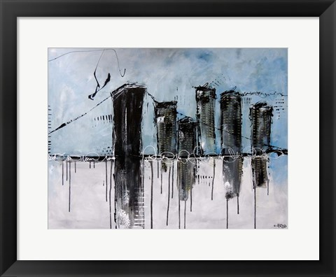 Framed City Print