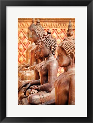 Framed Buddhist Students Print