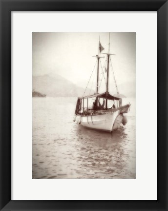 Framed Sailing in Rio Print