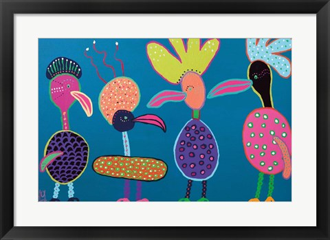 Framed Chatterboxes Print