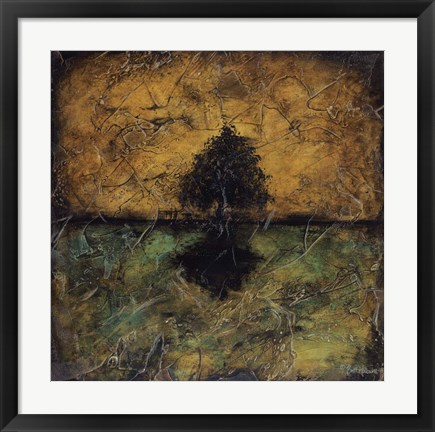 Framed Dreaming Tree Print