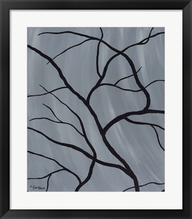 Framed Winter Secrets II Print