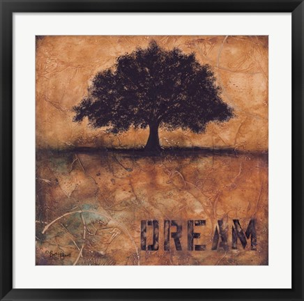 Framed Don't Forget Your Dreams Print