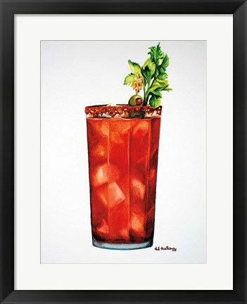 Framed Bloody Mary Print
