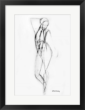 Framed Stretching Print