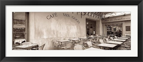 Framed Cafe Van Gogh Print