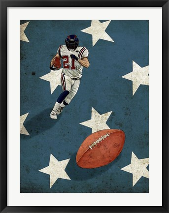 Framed American Sports: Football 2 Print