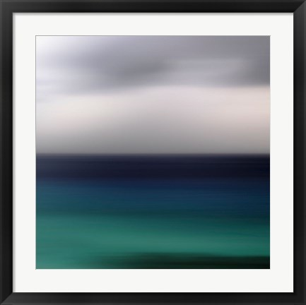 Framed Seascape No. 13 Print