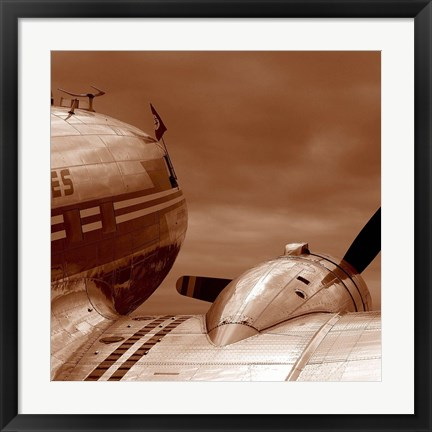 Framed Aviation 1 Print
