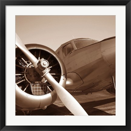 Framed Aviation 3 Print
