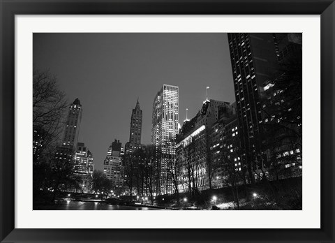 Framed Central Park View Print