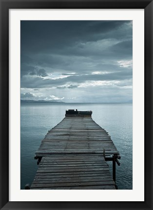 Framed Dock 1 Print