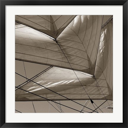 Framed Sails Print