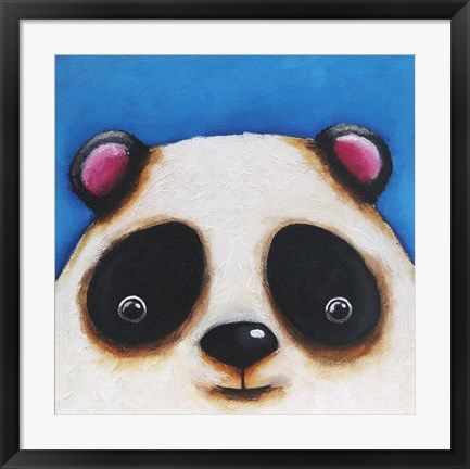 Framed Panda Bear Print