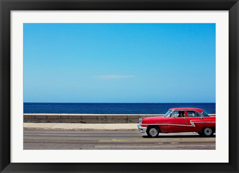 Framed Malecon II Print