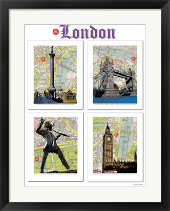 Framed London Poster Print