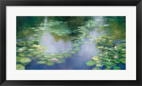 Framed Blue Lily III Print
