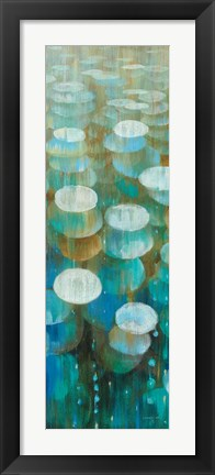 Framed Raindrops II Print