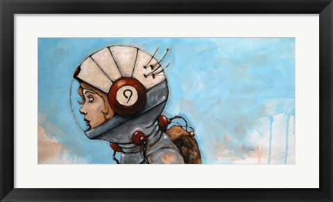 Framed Rosie The Rocketeer Print