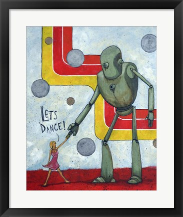 Framed Let's Dance Print