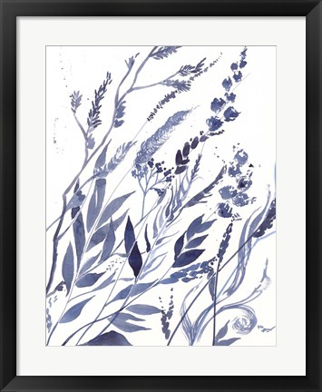 Framed Meadow VI Print