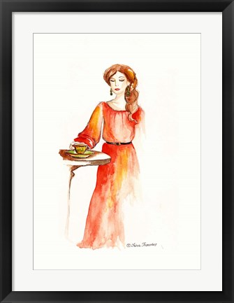 Framed Fashion Print