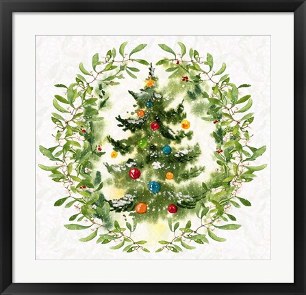 Framed Christmas Magic II Print