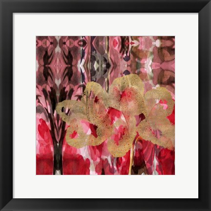 Framed Daisy Abstract Print