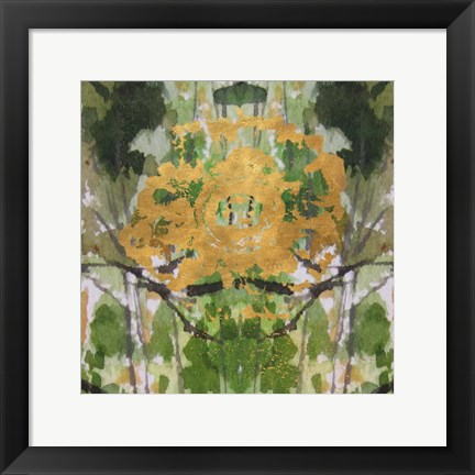Framed Geode Abstract 2 Print