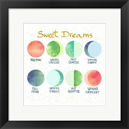 Framed Sweet Dreams Print