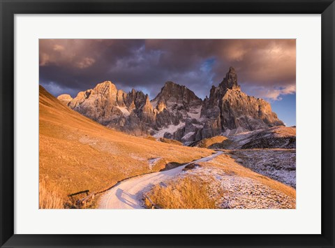 Framed Pale Di San Martino Print