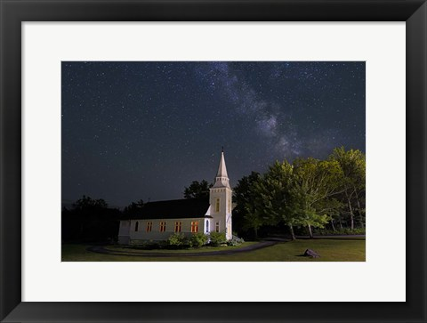 Framed Chapel Lights Print