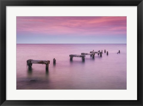 Framed Jetty No More Print