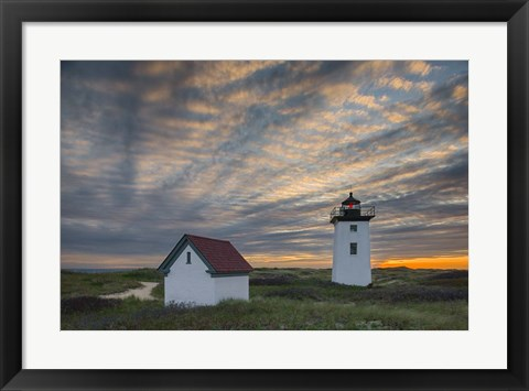 Framed Light Ripples Print