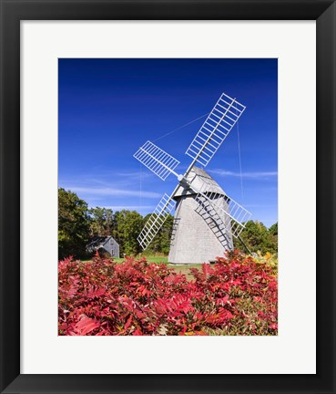 Framed Old Higgins Farm Windmill Print