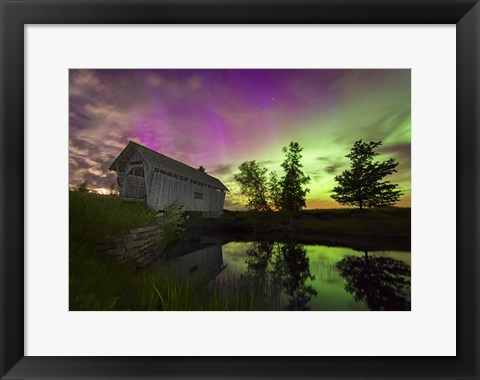 Framed Color of Night Print