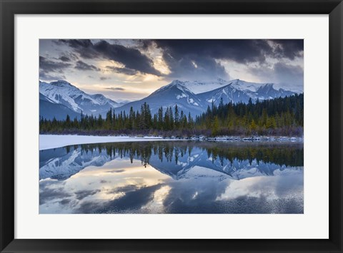 Framed Vermillion Reflection Print