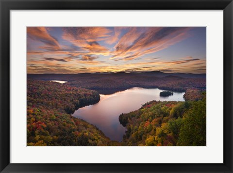 Framed Autumn Vista Print