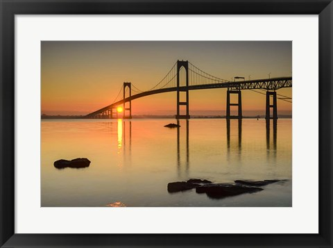 Framed Good Morning Newport Print