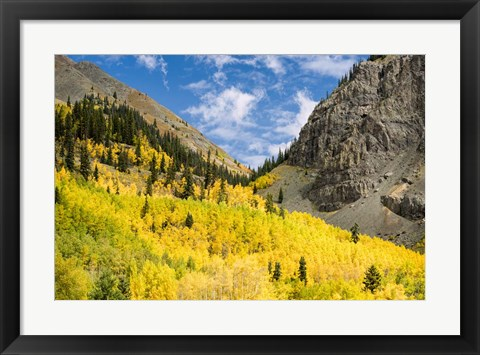 Framed Mountain Divide Print