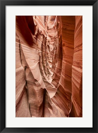 Framed Sandstone Buttresses Print