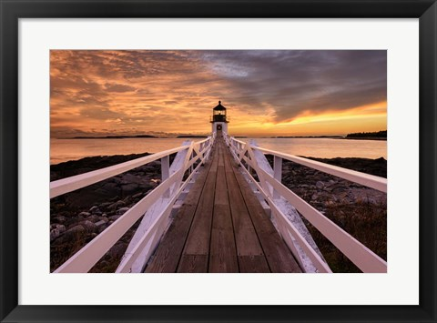 Framed Runway to the Sky Print