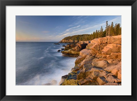 Framed Acadia Sunrise Print