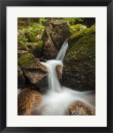 Framed Granite Cascade Print