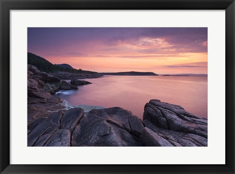 Framed Pink Dawn Print