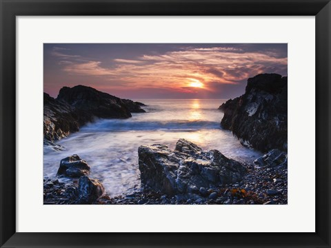 Framed Rocky Cove Print