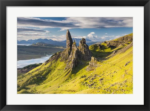 Framed Sanctuary Pinnacles Print