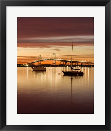 Framed Sunset Hues Print