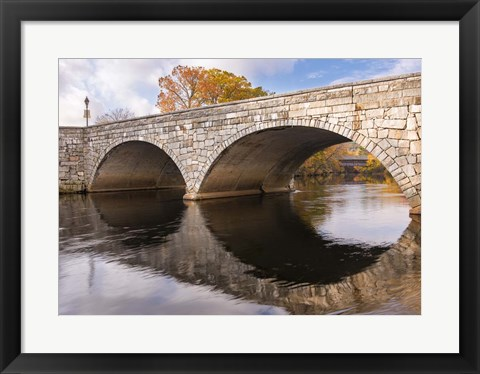 Framed Edna Dean Proctor Bridge Print