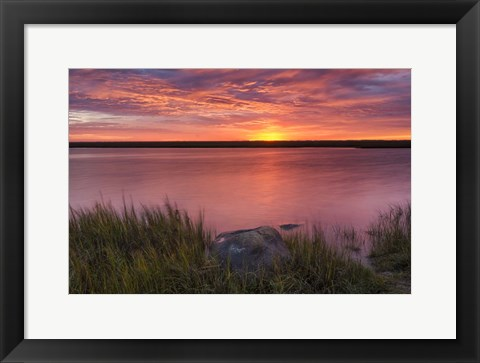 Framed Windy Marsh Print